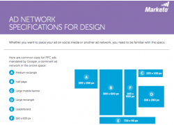 Ad Network Specifications for Design Marketo