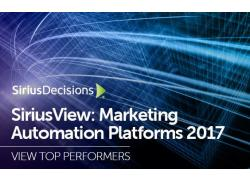 SiriusView Marketing Automation Platforms 2017