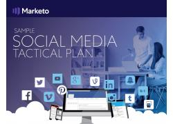 Social Media Tactical Plan Tile