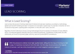 lead scoring cheat sheet cover image 2019